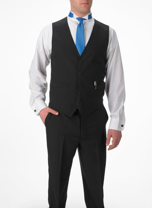 Men's Full Back Vest with Inside and Outside Pockets