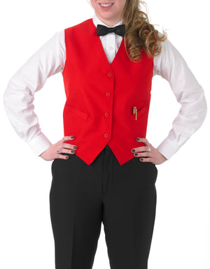 Women's Full Back Vest with Inside and Outside Pockets