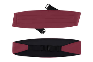 Women's Poly Satin Cummerbund