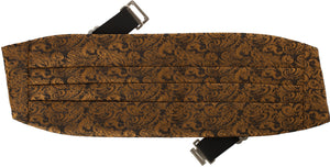 Men's Fancy Print Cummerbund