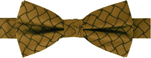 2″ Adjustable-Band, Fancy Print Bowtie