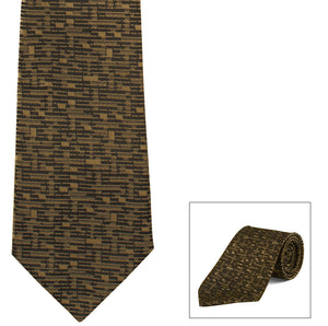 Clip-On, Straight, Fancy Print Tie