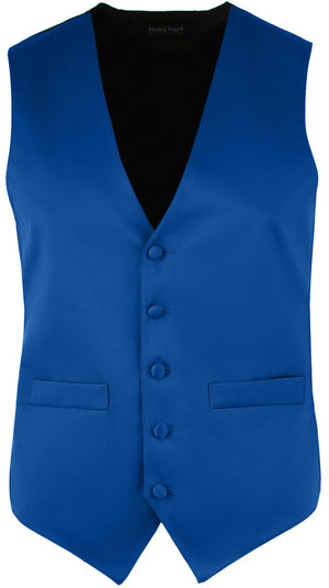 Men's Full Back Satin Vest