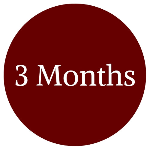 Wine Of The Month Club - 3 Months