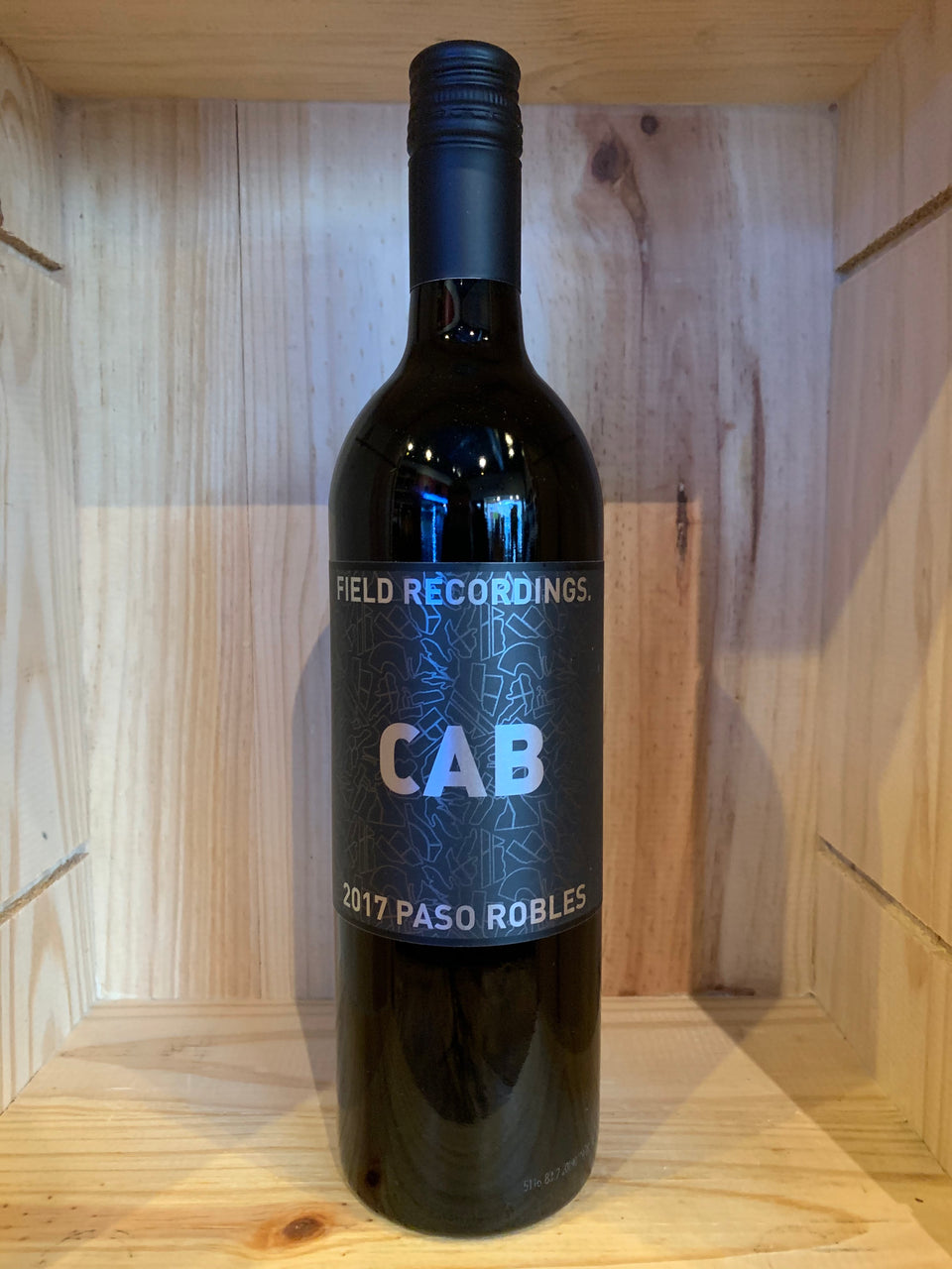 Field Recordings 2017 CAB