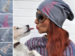 Produkt | paraperro goes Fashion - Beanies mit Hundesilhouette
