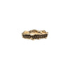 Amor Aeternus (Eternal Love) Narrow 14K Gold Textured Band Ring