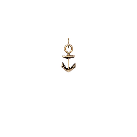 Anchor 14K Gold Symbol Charm