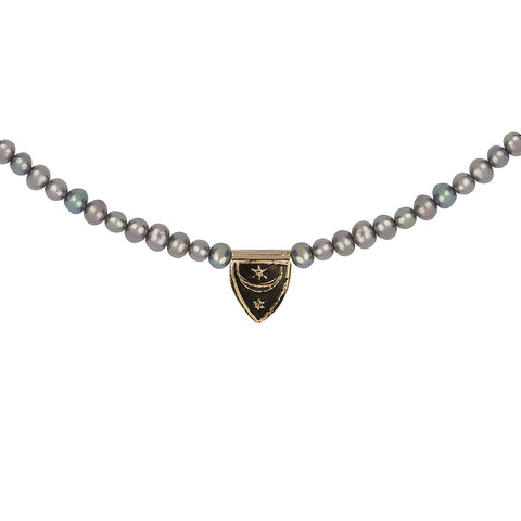 Truth & Enlightenment 14K Gold Freshwater Pearl Necklace