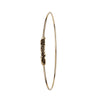 Una in Perpetuum 14K Gold Polished Bangle