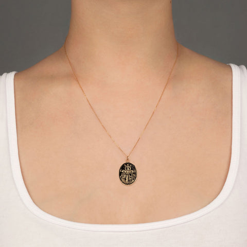 Adventure 14K Gold Talisman