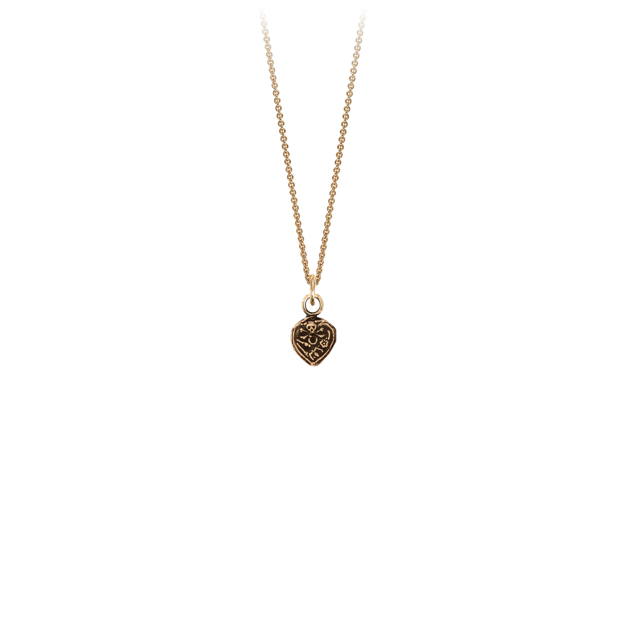 Pyrrha All is Vanity 14K Gold Talisman Necklace