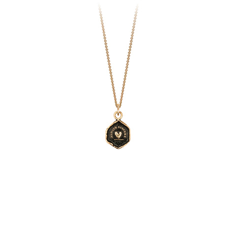 14k always sincere talisman - pyrrha - 1