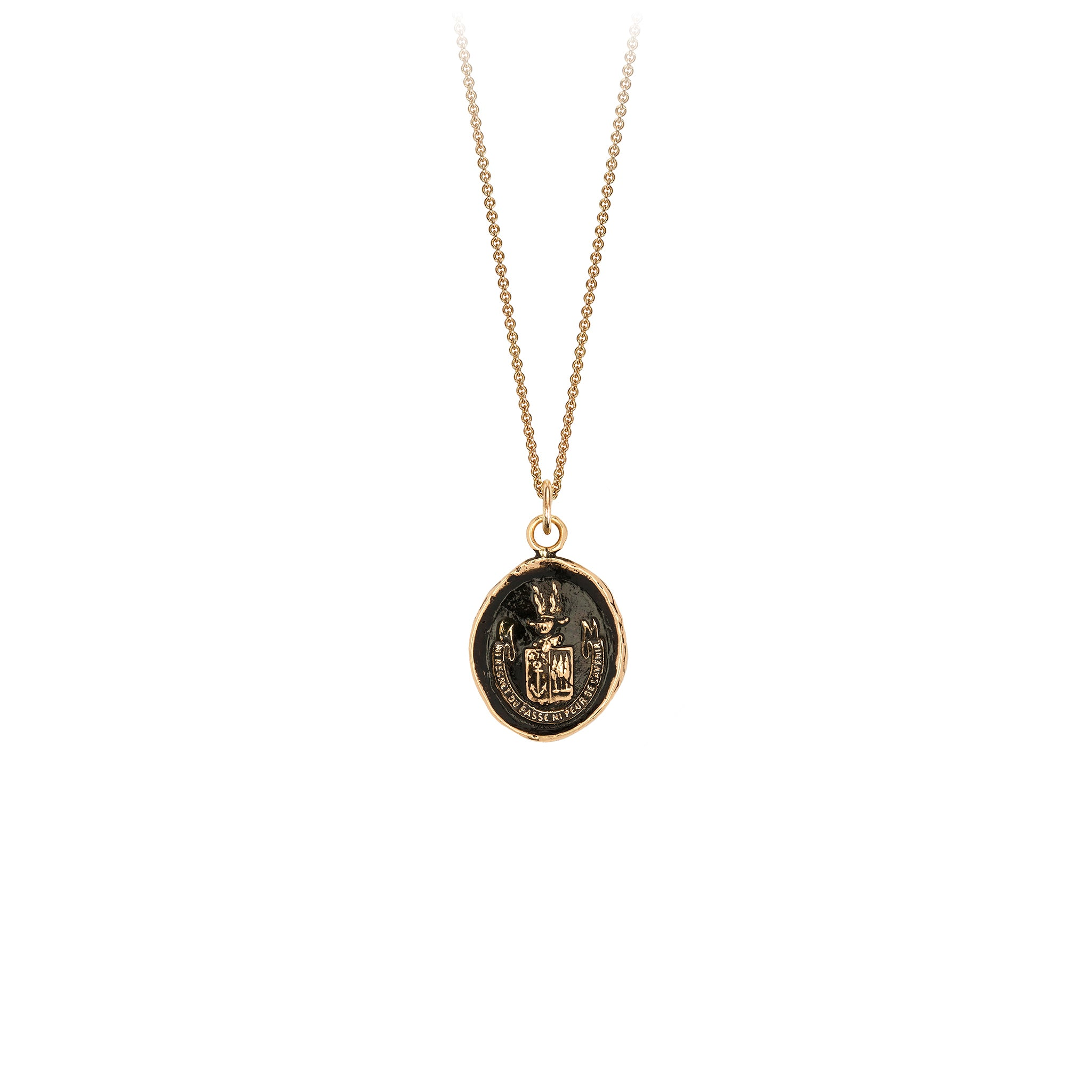 Be Here Now 14K Gold Talisman