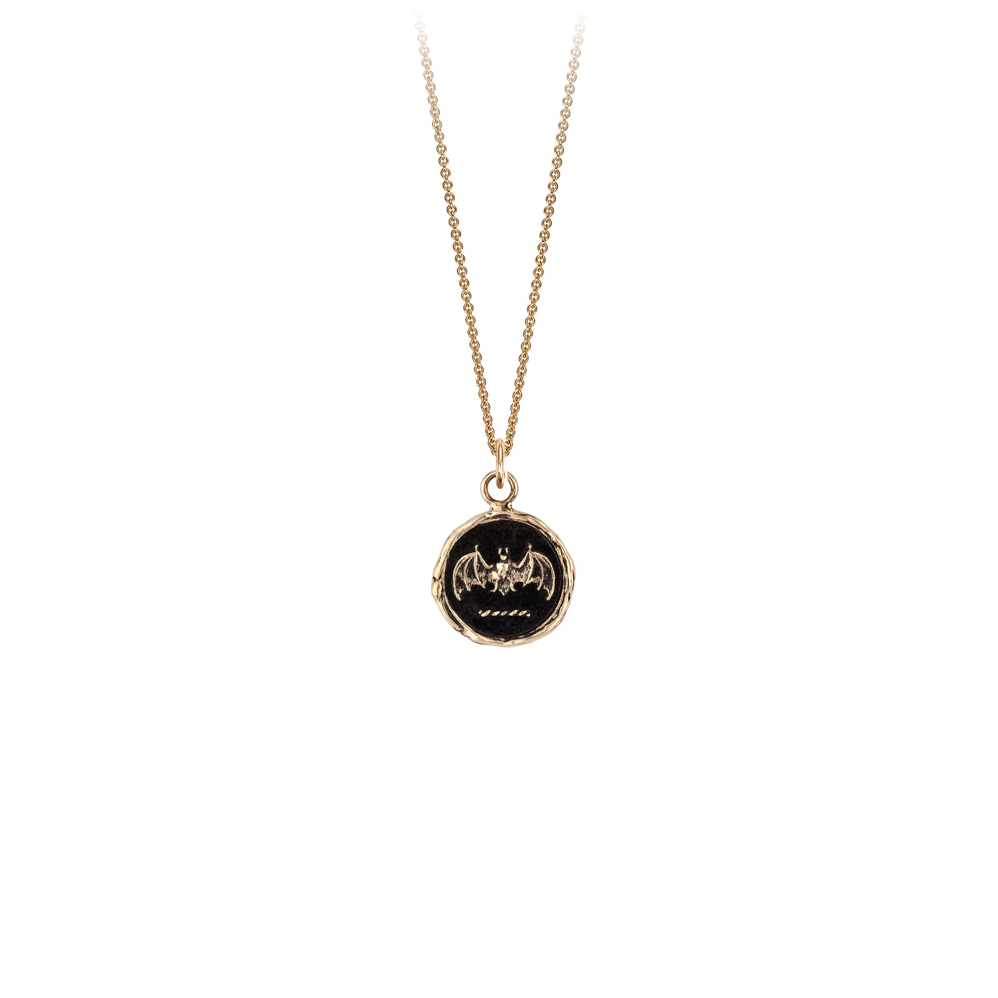Face Your Fears 14K Gold Talisman