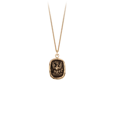 Pyrrha Follow Your Dreams 14K Gold Talisman Necklace