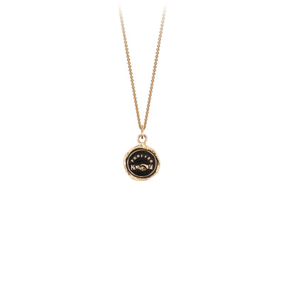 Pyrrha Forever Friends 14K Gold Talisman Necklace