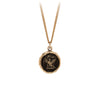 Pyrrha 14K Gold Never Settle Signature Talisman Necklace