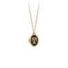 Pyrrha 14K Gold Guardian Angel Locket Necklace