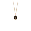 Pyrrha 14K Gold Initial Y Talisman Necklace