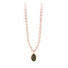 Pyrrha 14K Gold Integrity Rose Freshwater Pearl Talisman Necklace