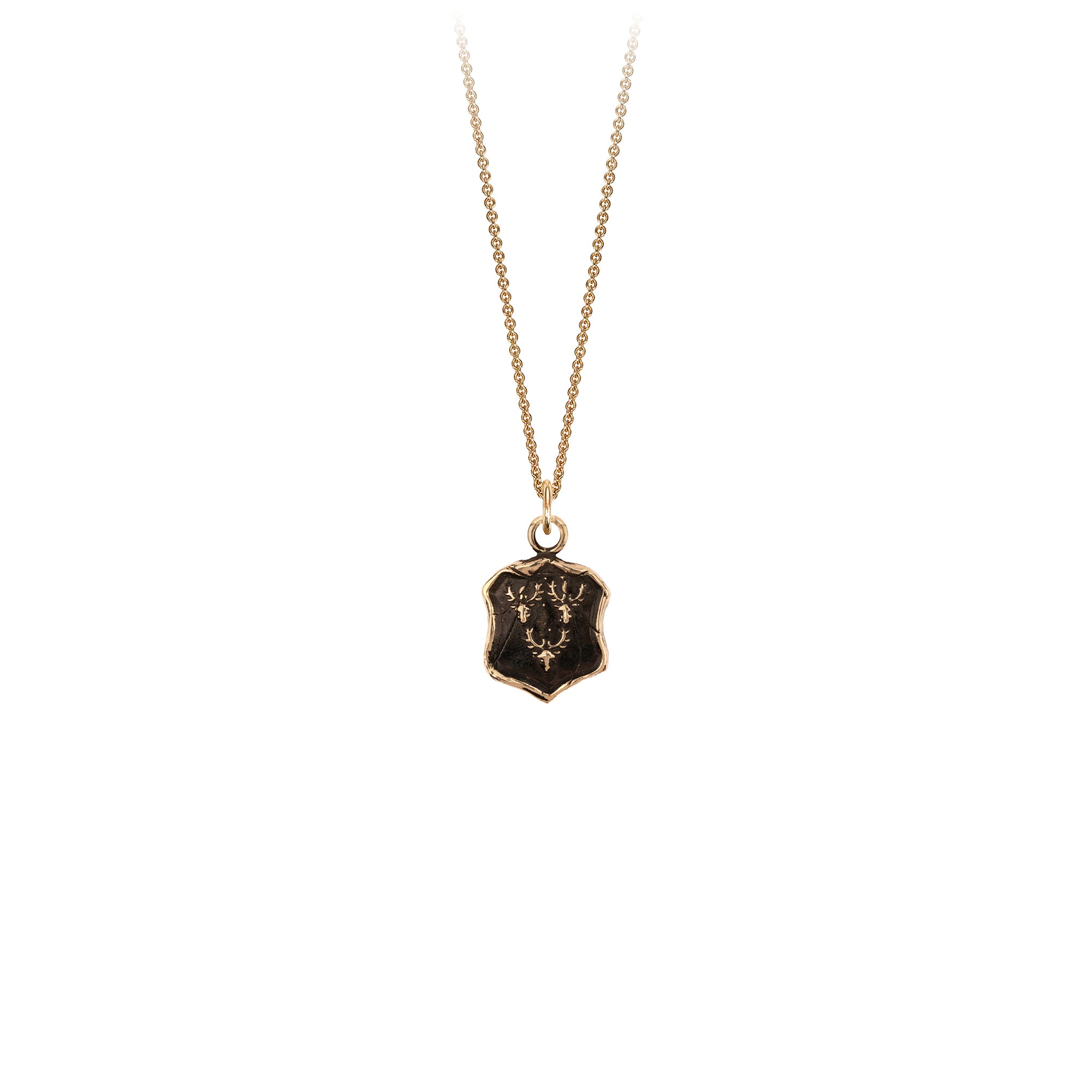 Pyrrha Intuition 14K Gold Talisman Necklace