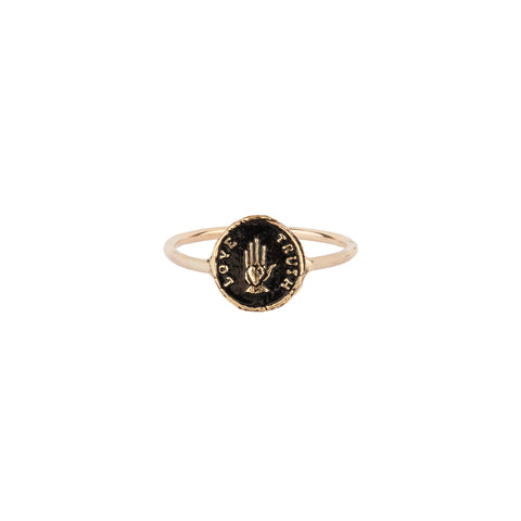 Love Truth 14K Gold Talisman Ring