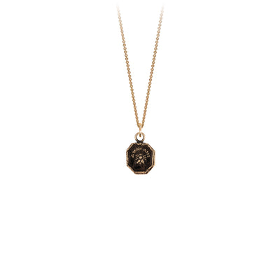 Pyrrha 14K Gold My Friend Talisman Necklace