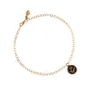 Rose 14K Gold Chain Bracelet