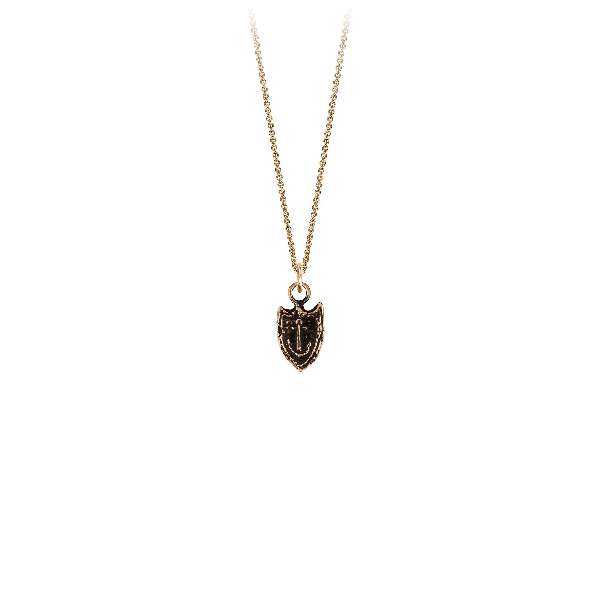 Pyrrha 14K Gold Unshakeable Talisman Necklace