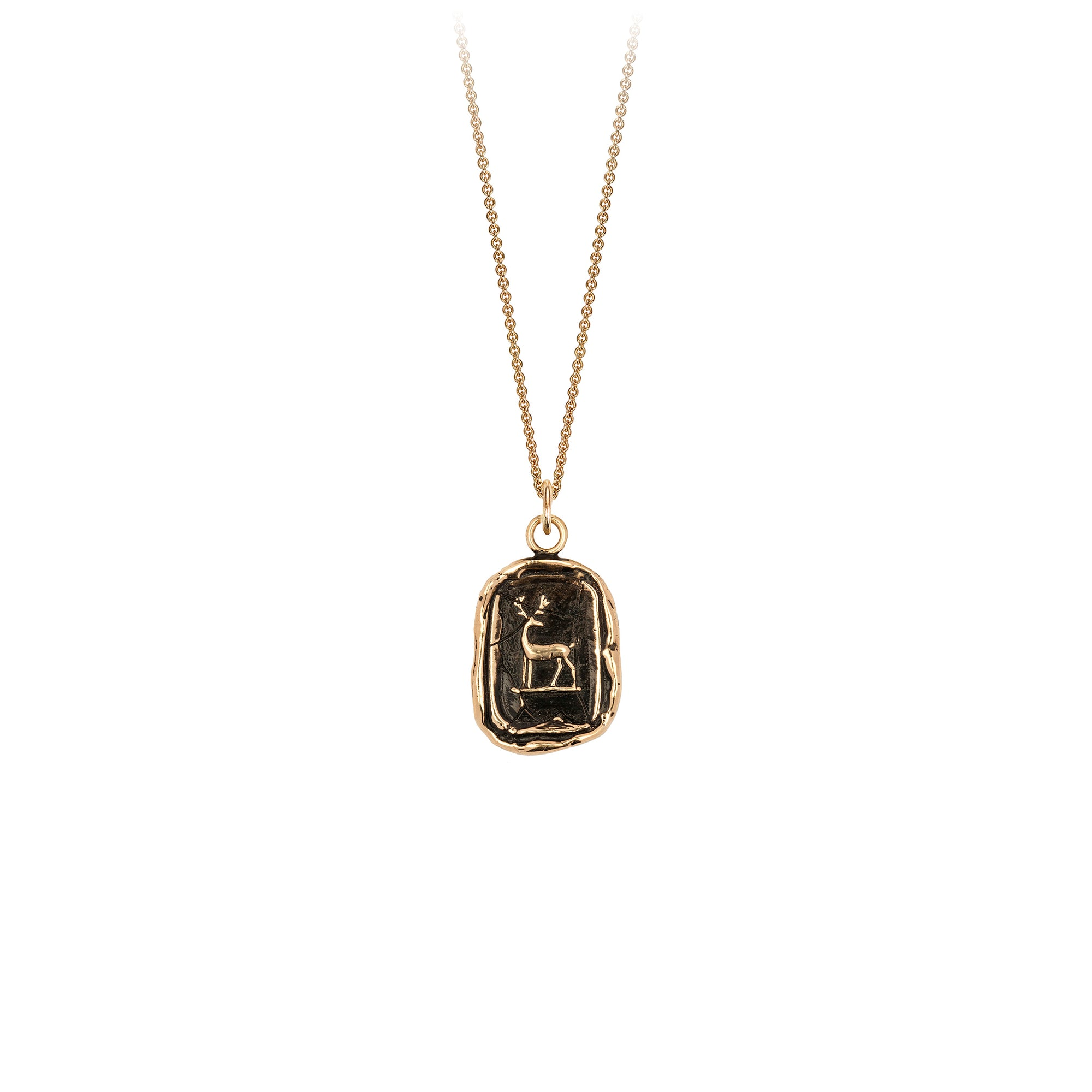Pyrrha 14K Gold Whole Hearted Talisman Necklace