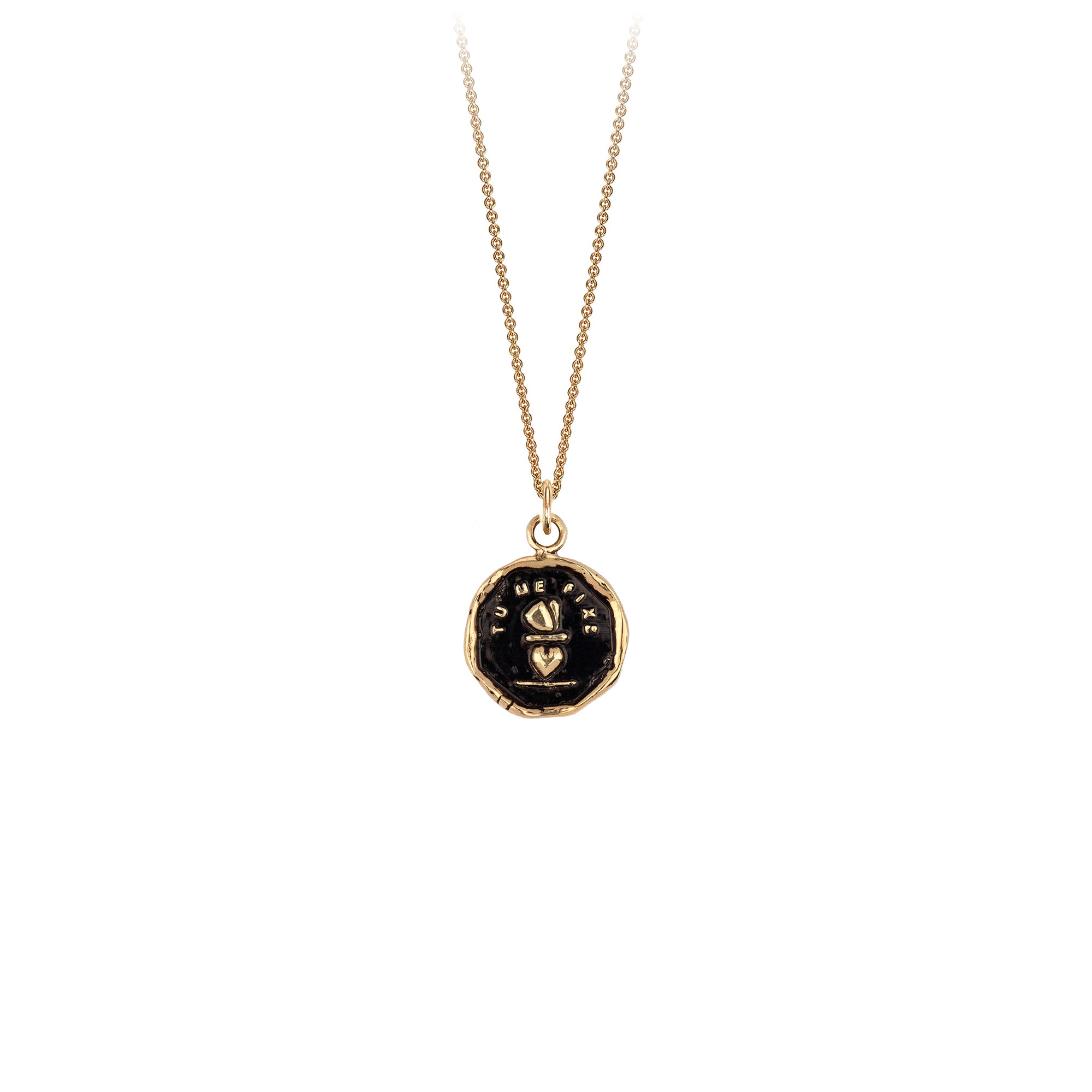 Pyrrha 14K Gold You Complete Me Talisman Necklace