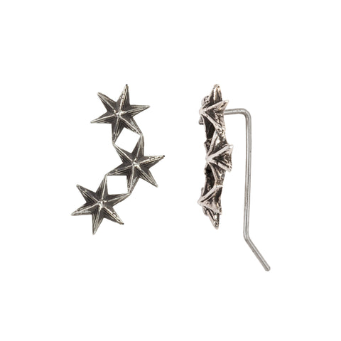 Star Crawler Earrings - Pyrrha - 1