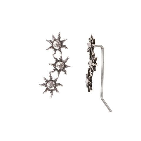 Sun Crawler Earrings - Pyrrha - 1