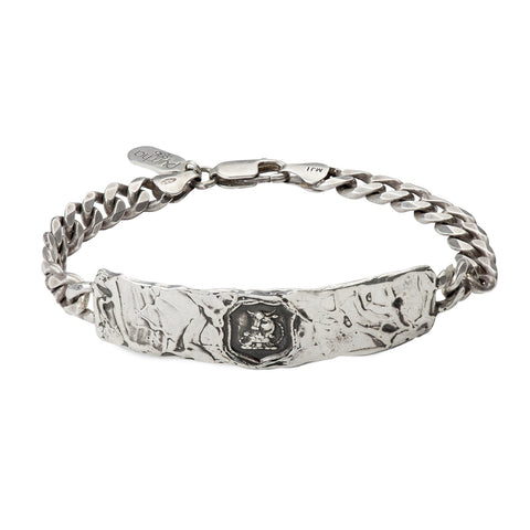 Fatherhood Wide ID Bracelet - Pyrrha  - 1