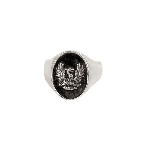 Fire Within Signet Ring