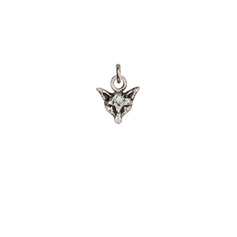Fox Diamond Set Talisman Charm - Pyrrha  - 1