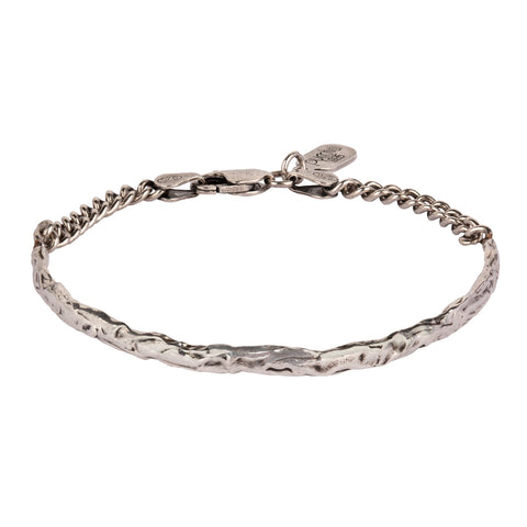 Half Bangle Chain Bracelet - Pyrrha - 1