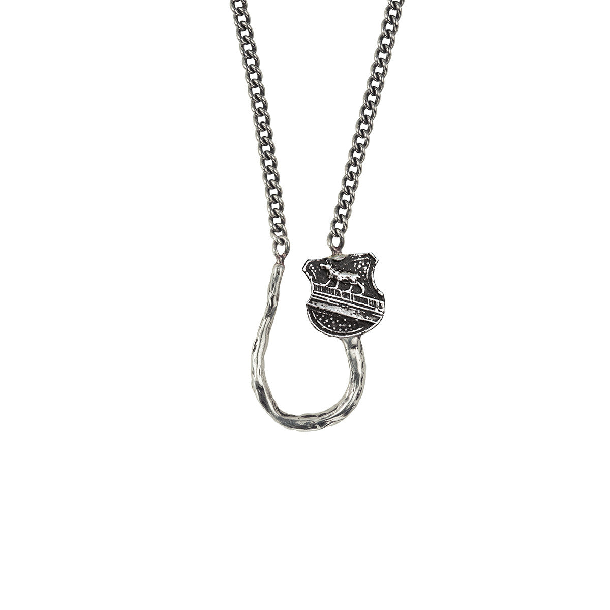 Heart of the wolf charm holder necklace pyrrha heart of the wolf charm holder necklace pyrrha mozeypictures Gallery