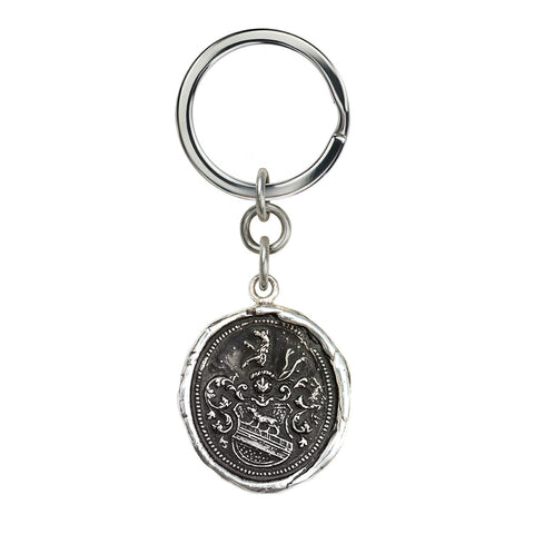 Heart of the Wolf Key Chain - Pyrrha  - 1