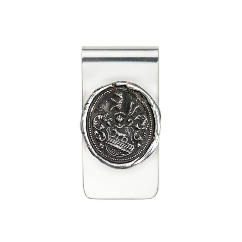 Heart of the Wolf Money Clip - Pyrrha