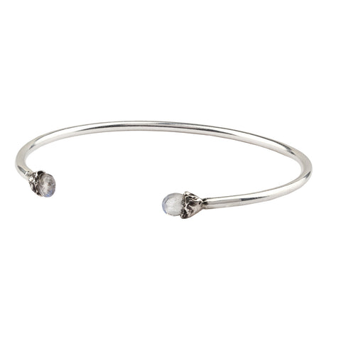 Improvement Capped Attraction Charm Open Bangle - Pyrrha  - 1