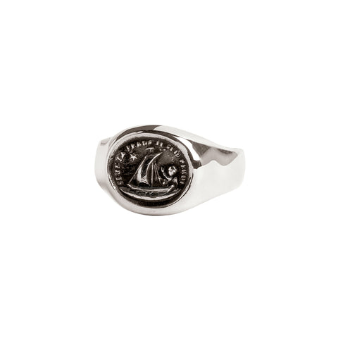 Light My Way Signet Ring