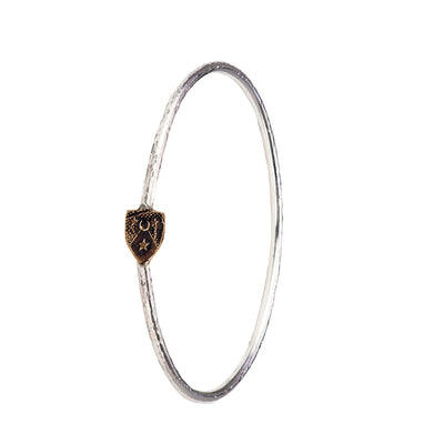 Moon & Stars Bangle - Pyrrha  - 7