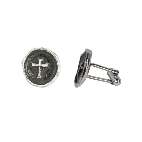 Cross Cufflinks - Pyrrha  - 1