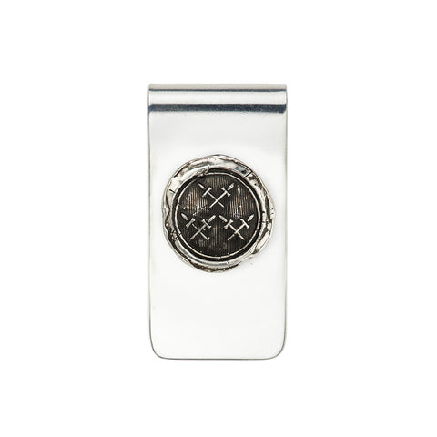 Crossed Daggers Money Clip - Pyrrha  - 1