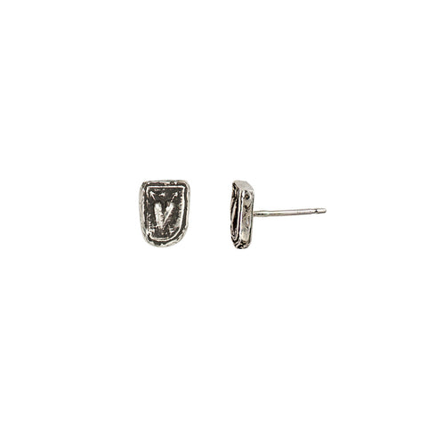 Cupid's Arrows Stud Earrings - Pyrrha  - 1