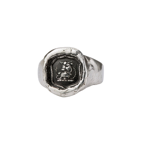 Fatherhood Signet Ring - Pyrrha  - 1
