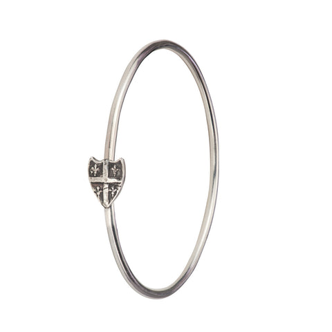 Fleur de Lys Shield Bangle - Pyrrha  - 1