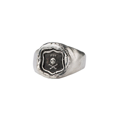 I Was Here Signet Ring - Pyrrha